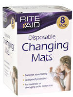 Rite Aid Disposable Changing Mats