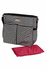 Childcare Striped Nappy Bag